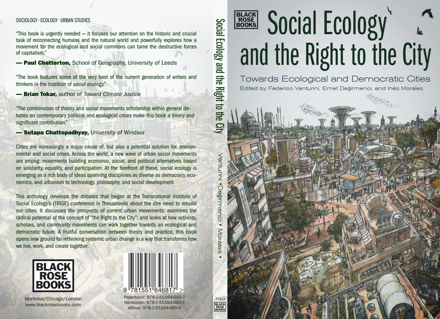 Social Ecology and the Right to the City   Federico Venturini ...