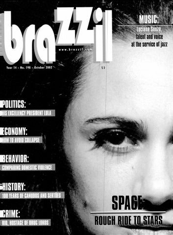 Brazzil Year 14 Number 198 October 2002 By Brazzil