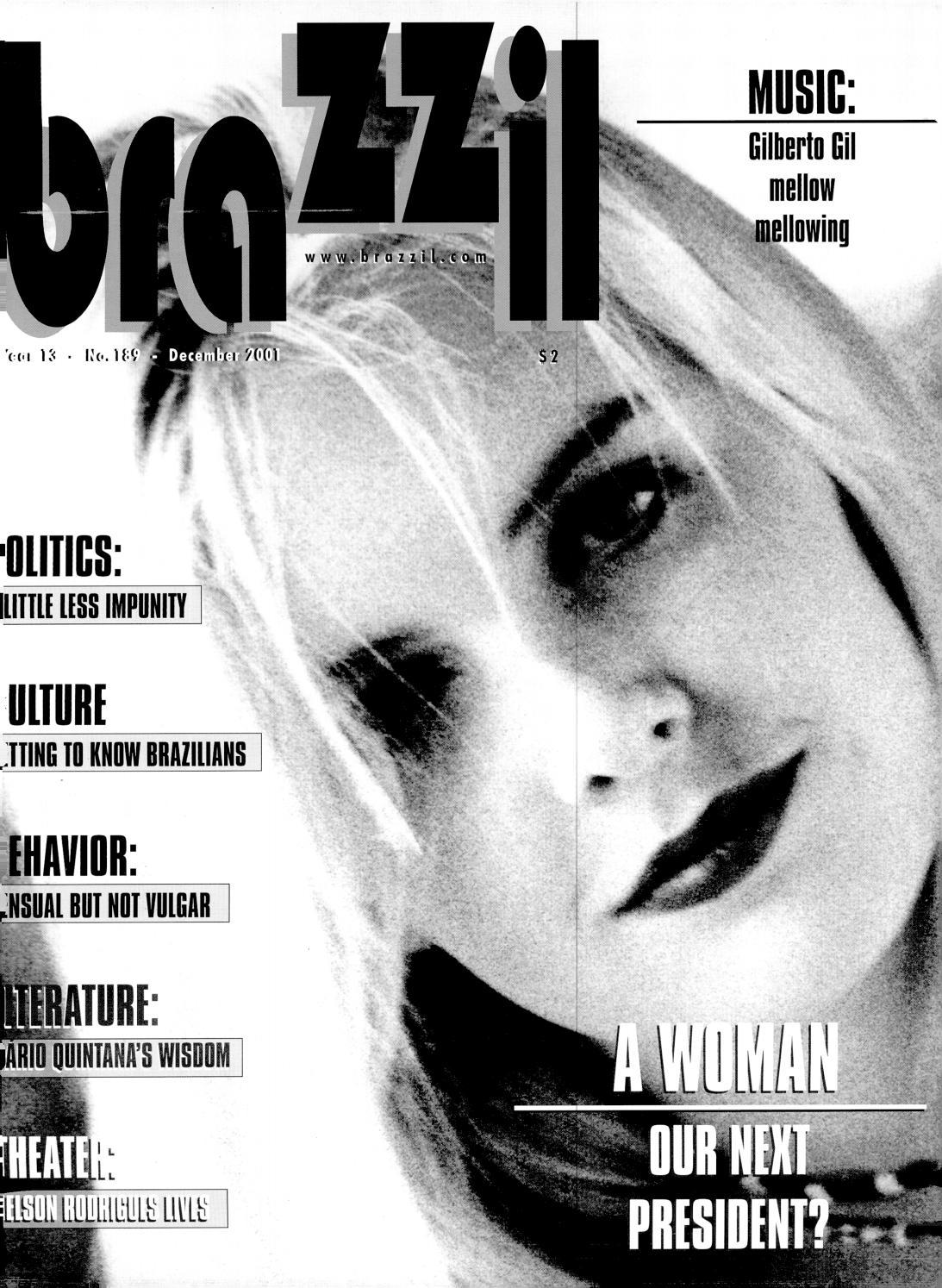 Brazzil Year 13 Number 189 December 2001 By Brazzil Magazine