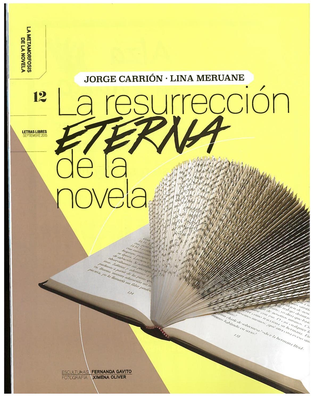 Resurreción De La Novela By Kosmic Bluez Issuu