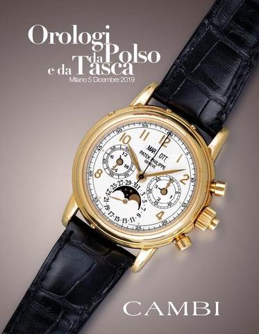 Datazione di un orologio ATMOS