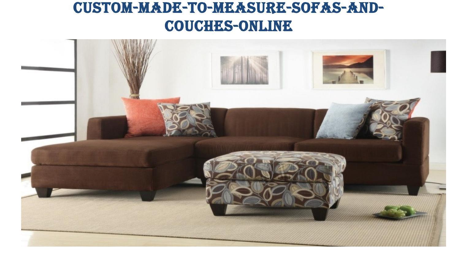 Custom Made To Measure Sofas And