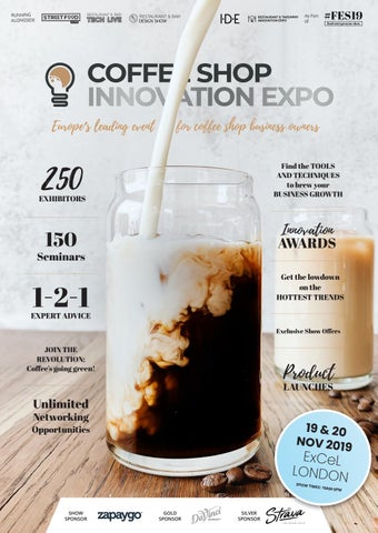 Coffee Shop Innovation Expo 2019 By Prysm Group Issuu