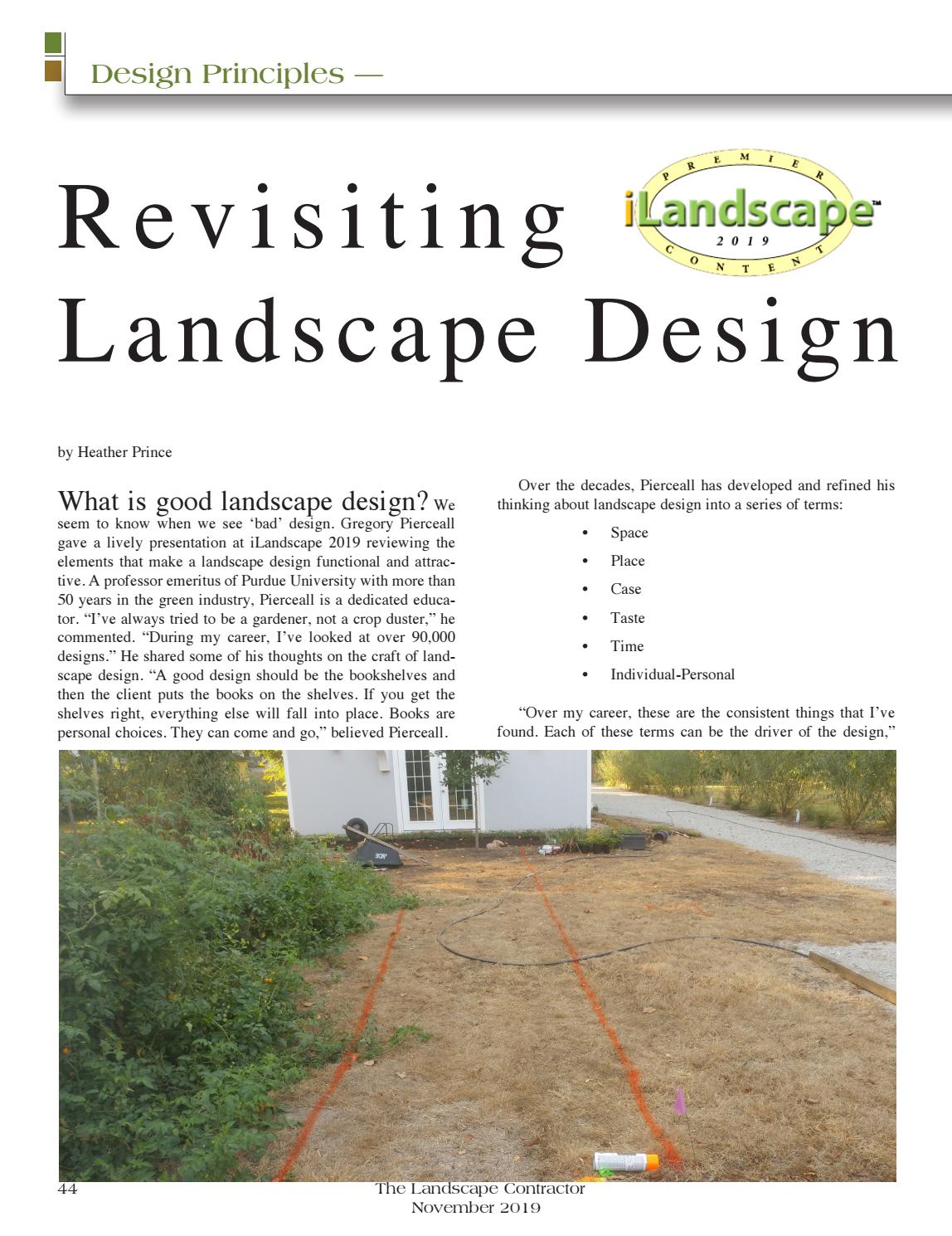 The November 2019 Digital Edition Of The Landscape Contractor