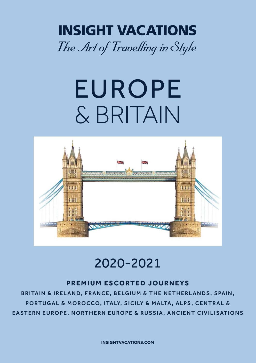 Europe Britain 2020 2021 By Sunway Travel Group Issuu