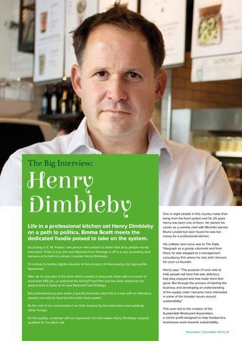 Page 25 of The Big Interview - Henry Dimbleby