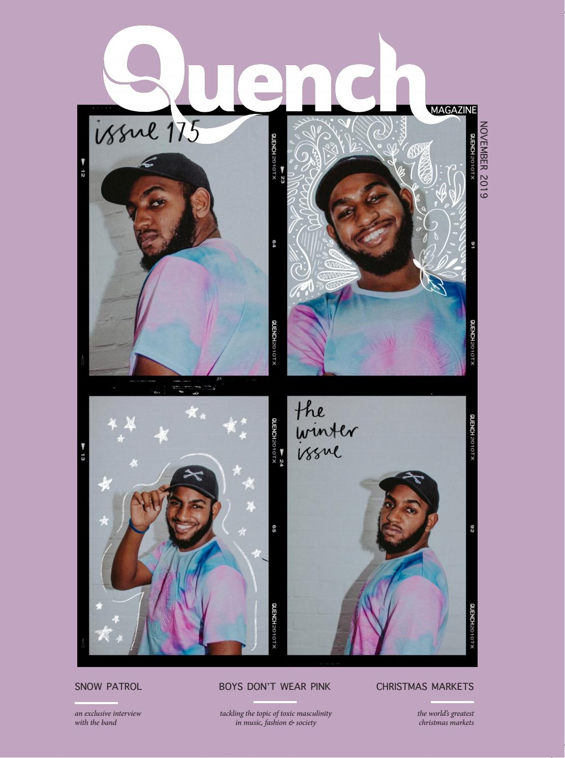 Quench Magazine Issue 175 November 2019 By Cardiff Student Media Issuu