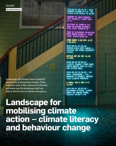 Page 22 of Landscape for mobilising climate action: Climate literacy and behaviour change