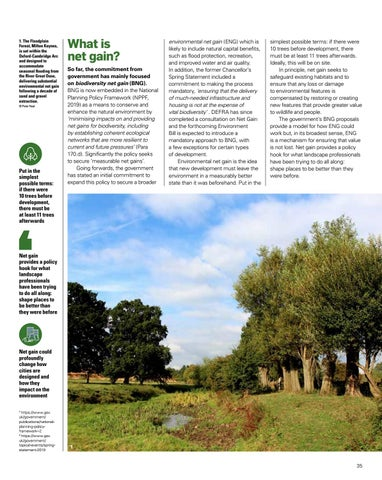 Page 35 of Environmental Net Gain: Capturing the opportunity for the Landscape Profession
