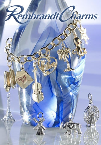 Dental Caduceus Navy Charm Beads Set of 3