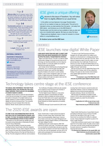 Page 2 of iESE launches new digital White Paper