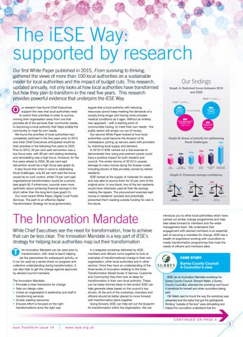 Page 5 of The iESE Way: supported by research