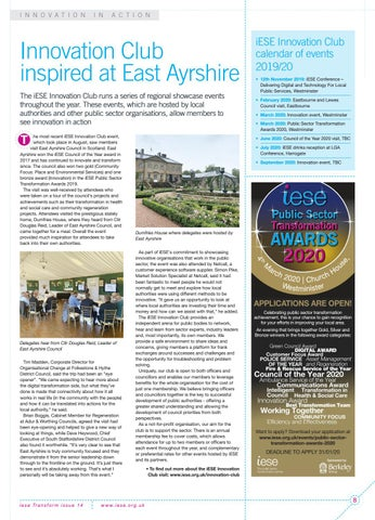 Page 8 of Innovation Club inspired at East Ayrshire