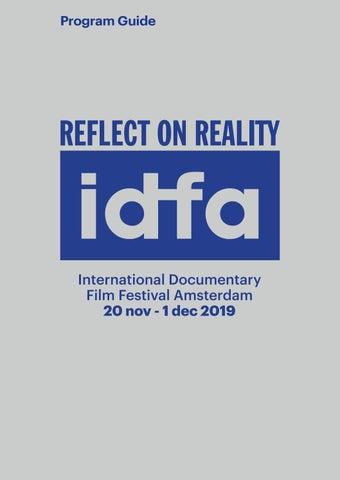 IDFA 2019 Program Guide by IDFA International Documentary