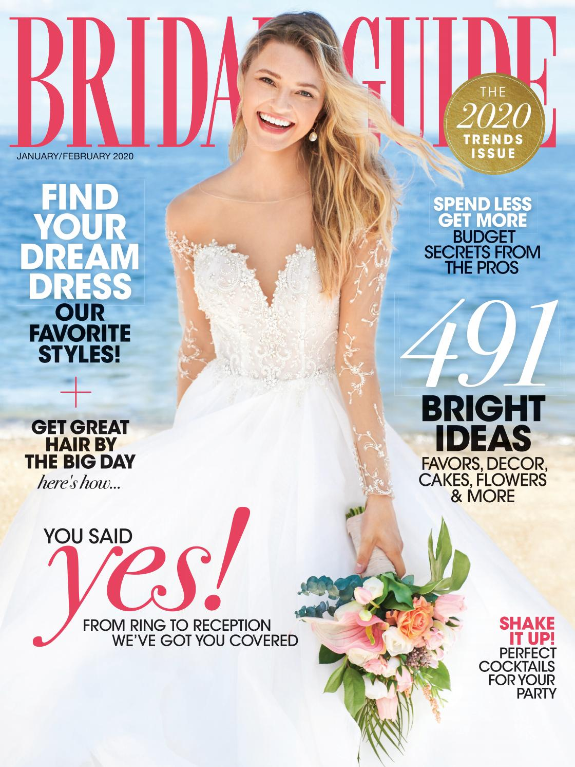 Bridal Guide January February 2020 By Bridal Guide Magazine Issuu