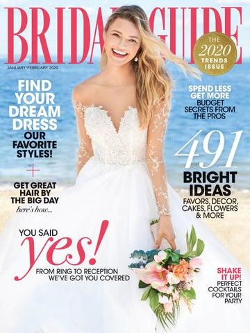 Bridal Guide January February 2020 By Bridal Guide Magazine Issuu