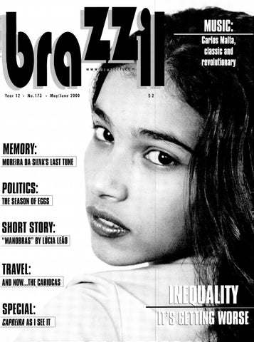 Brazzil Year 12 Number 173 May June 2000 By Brazzil Magazine