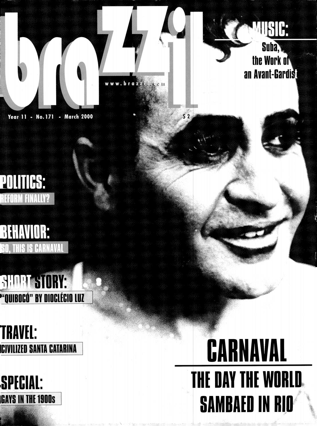 Brazzil Year 11 Number 171 March 2000 By Brazzil Magazine