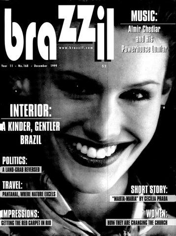 Brazzil Year 11 Number 168 December 1999 By Brazzil Magazine