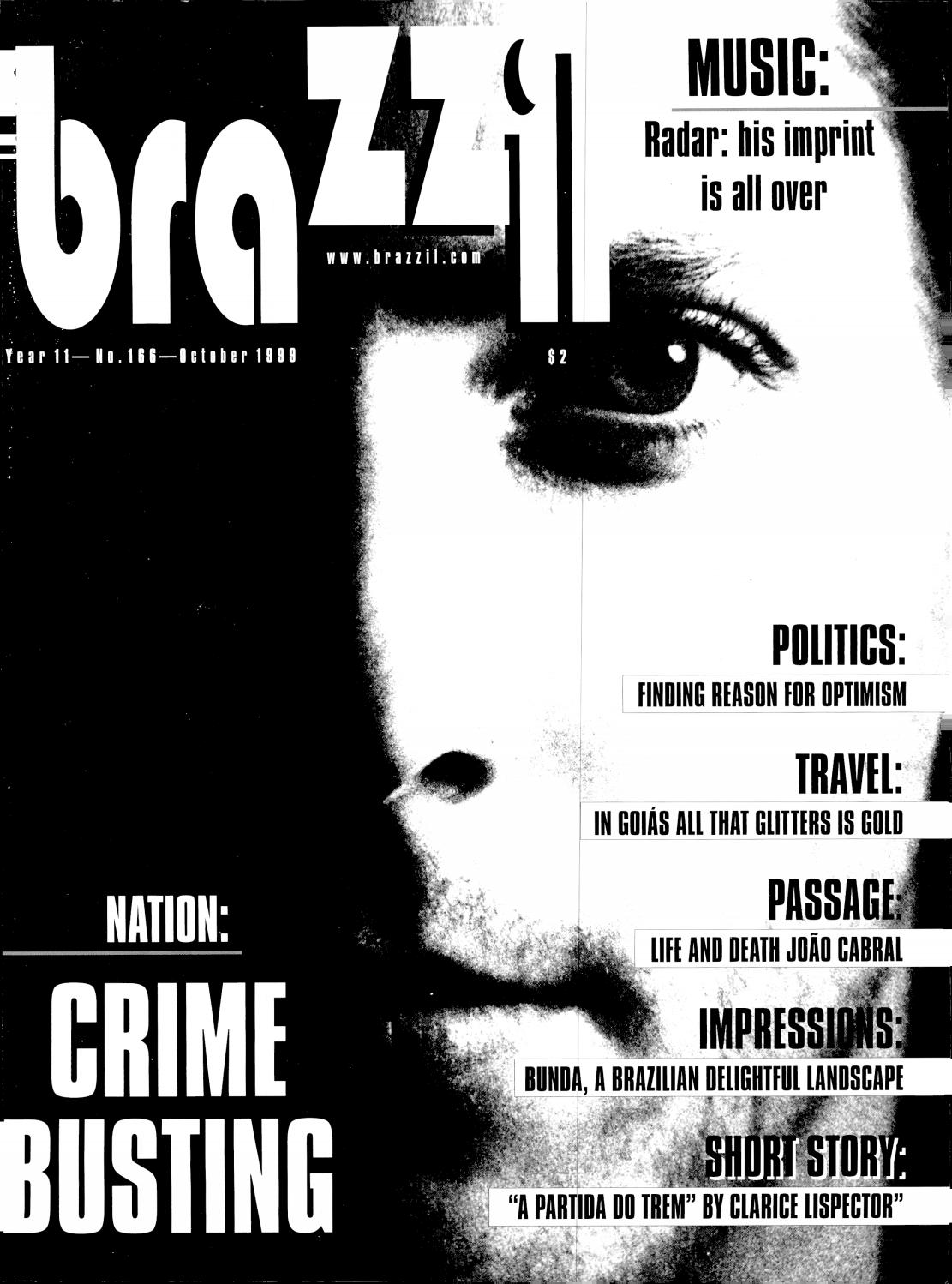 Brazzil Year 11 Number 166 October 1999 By Brazzil