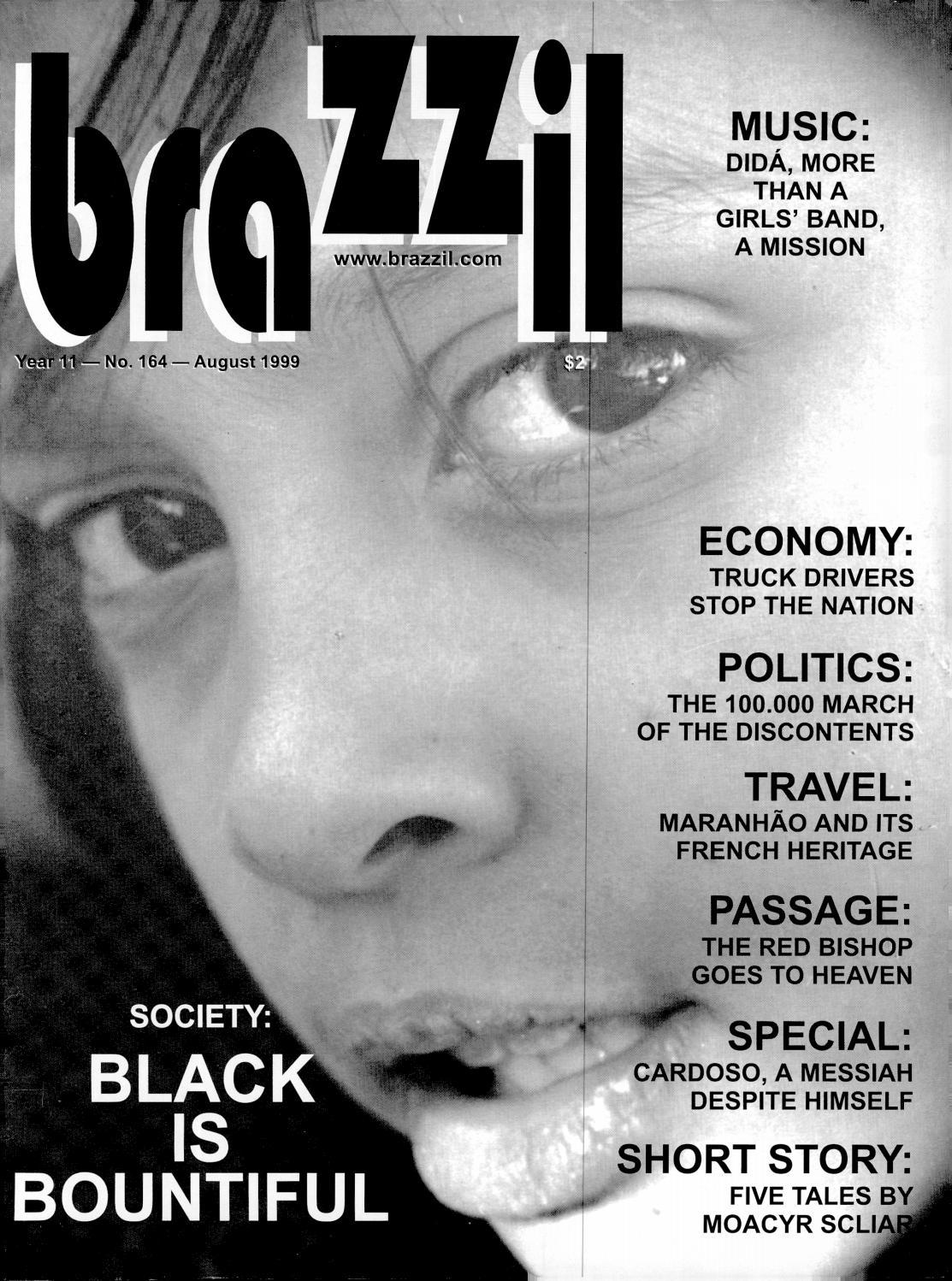 Brazzil Year 11 Number 164 August 1999 By Brazzil Magazine