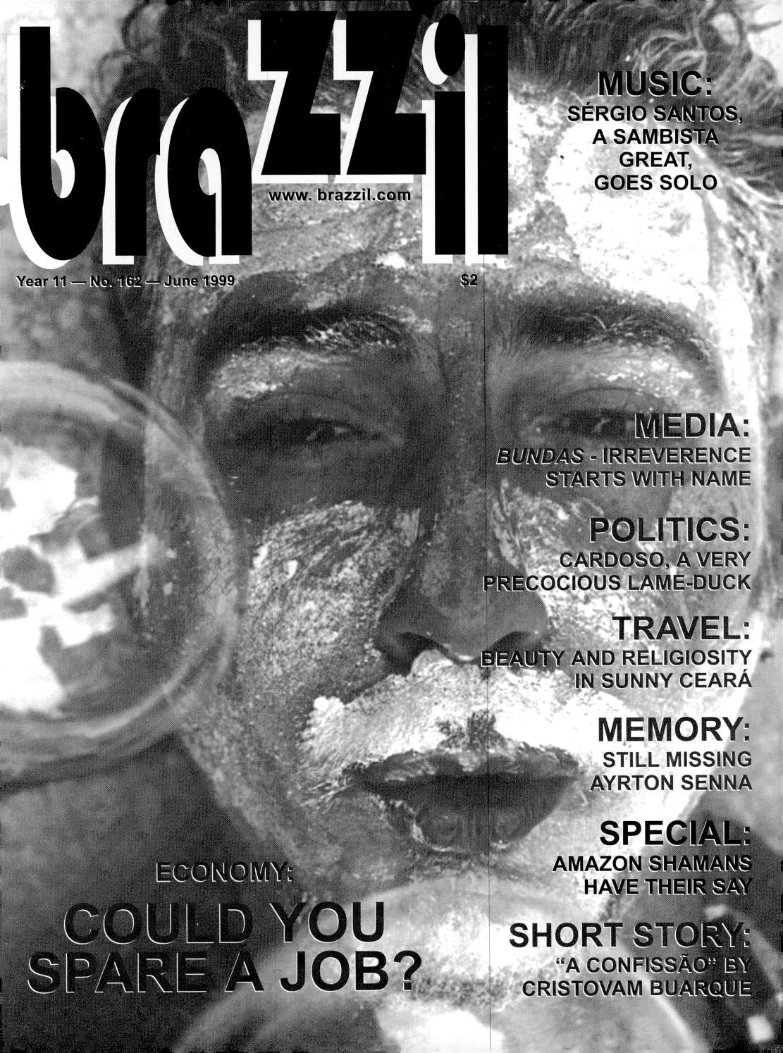 Brazzil Year 11 Number 162 June 1999 By Brazzil Magazine Issuu
