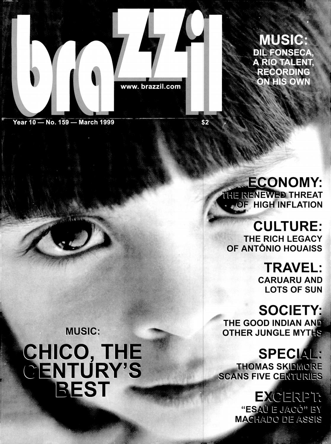 Brazzil Year 10 Number 159 March 1999 By Brazzil Magazine