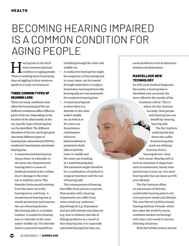 Page 48 of BECOMING HEARING IMPAIRED IS A COMMON CONDITION FOR AGING PEOPLE