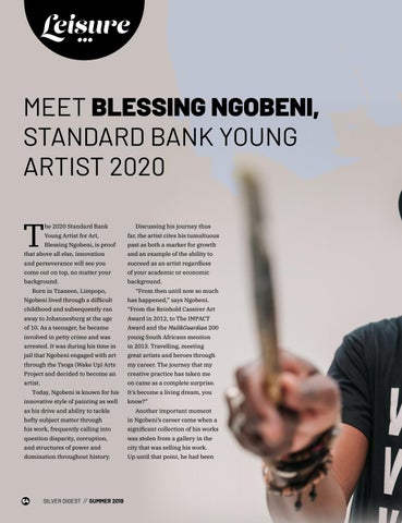 Page 54 of MEET BLESSING NGOBENI, STANDARD BANK YOUNG ARTIST 2020