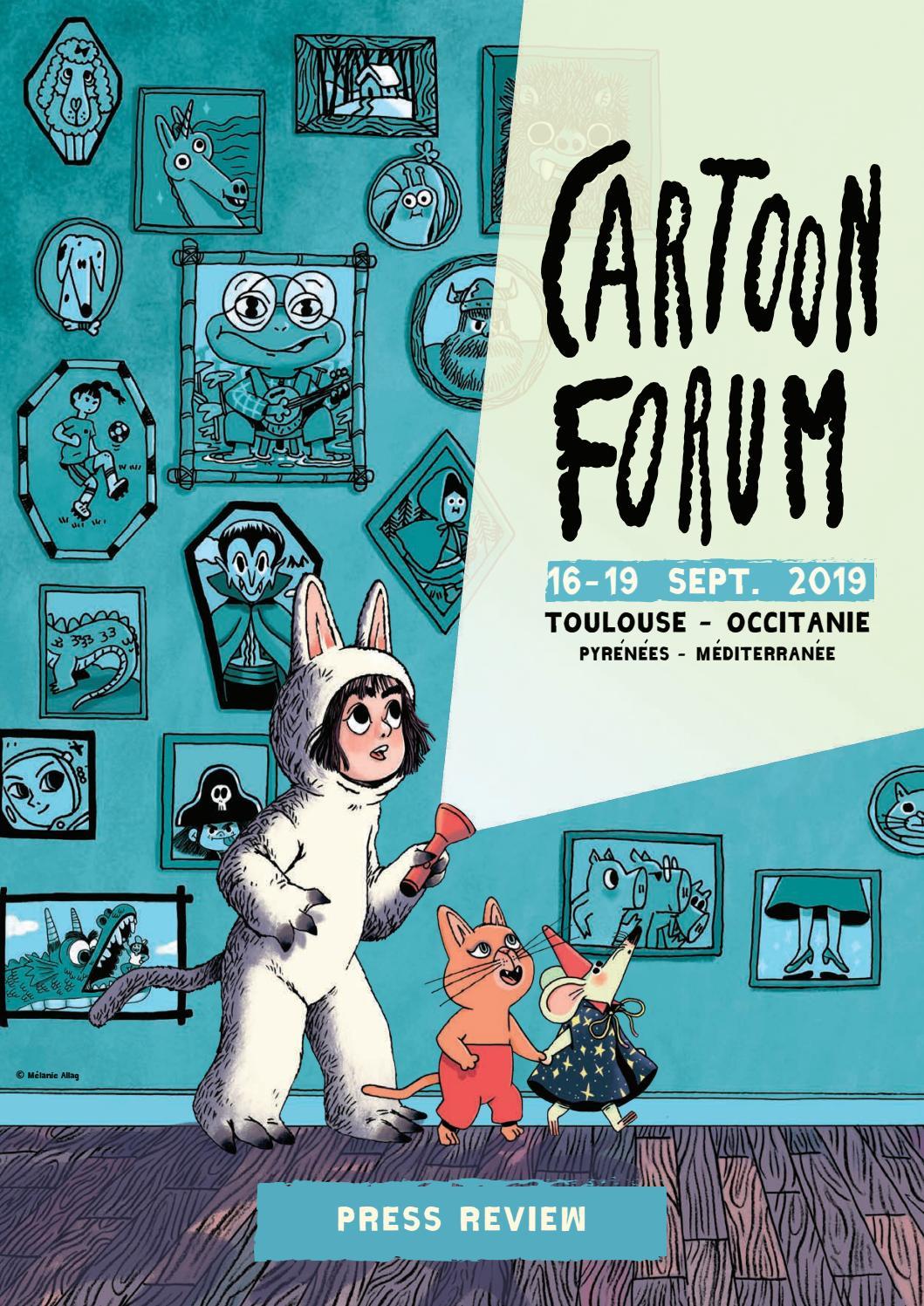 Cartoon Forum 2019 Press Review By Cartoon Issuu