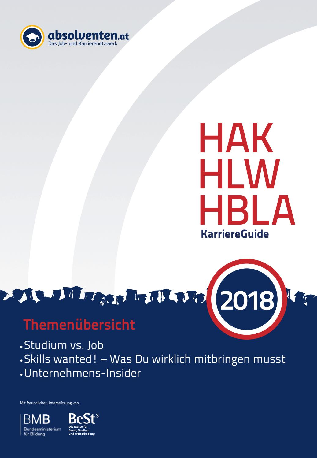 Hak Hlw Hbla Karriereguide 2018 By Absolventen At Issuu
