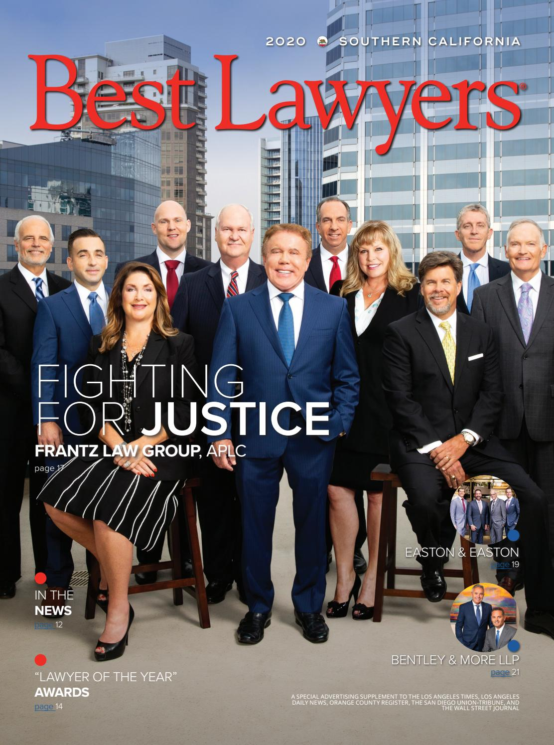 Best Lawyers in Southern California 2019 by Best Lawyers issuu