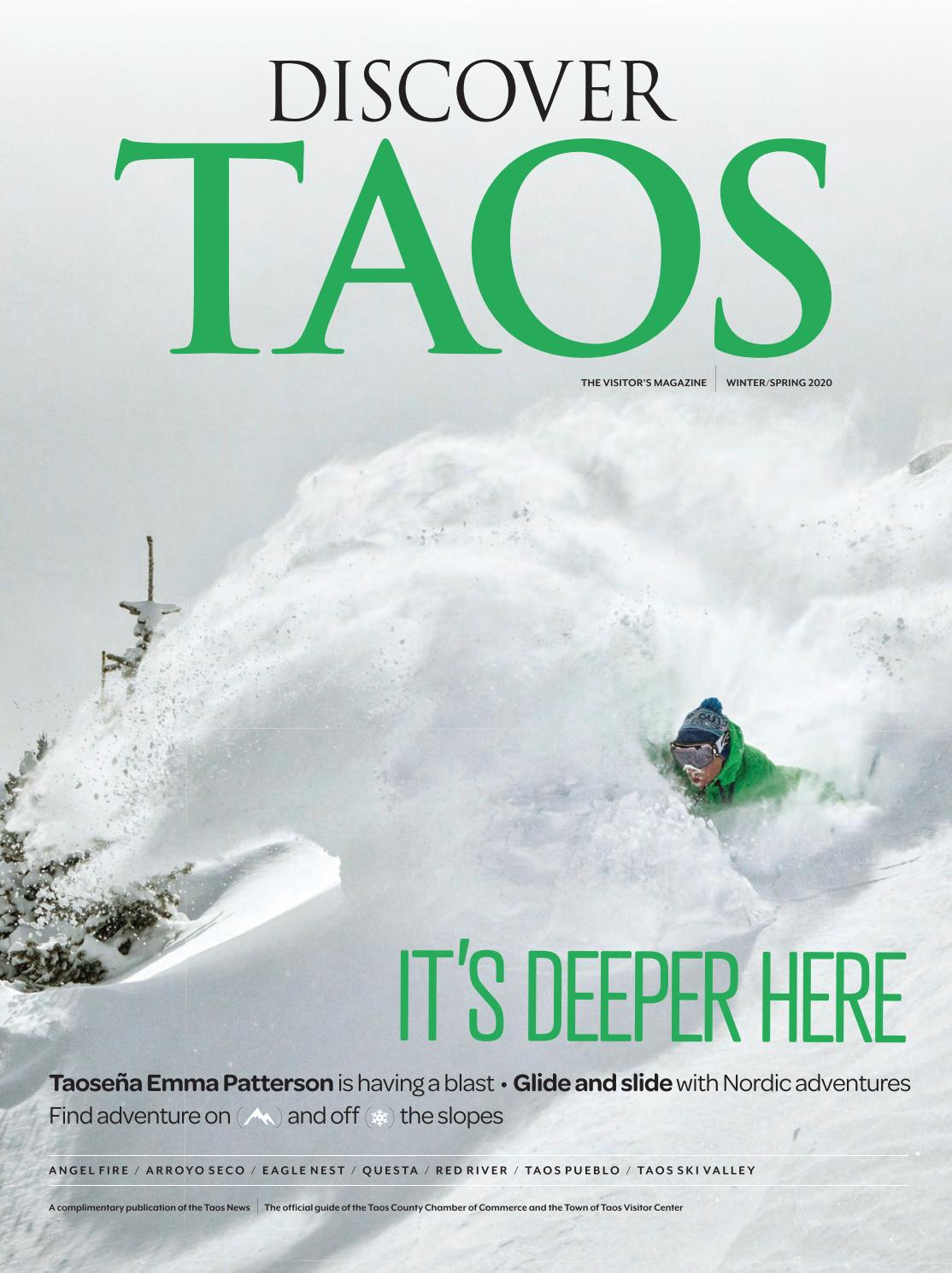 POSTER WINTER SPORT SKI TAOS NEW MEXICO MOUNTAINS SKIING VINTAGE REPRO FREE S//H