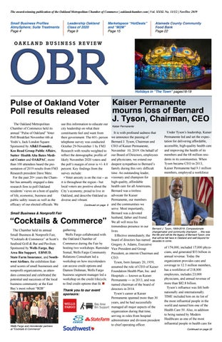 Nov Dec 2019 Oakland Business Review By Oakland Chamber Of