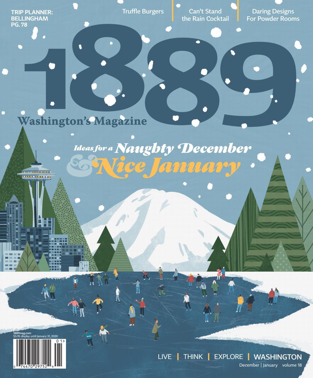 Odds That Lake Chelan Wa. Has Snow For Christmas 2020 1889 Washington's Magazine | December/January 2019 by Statehood