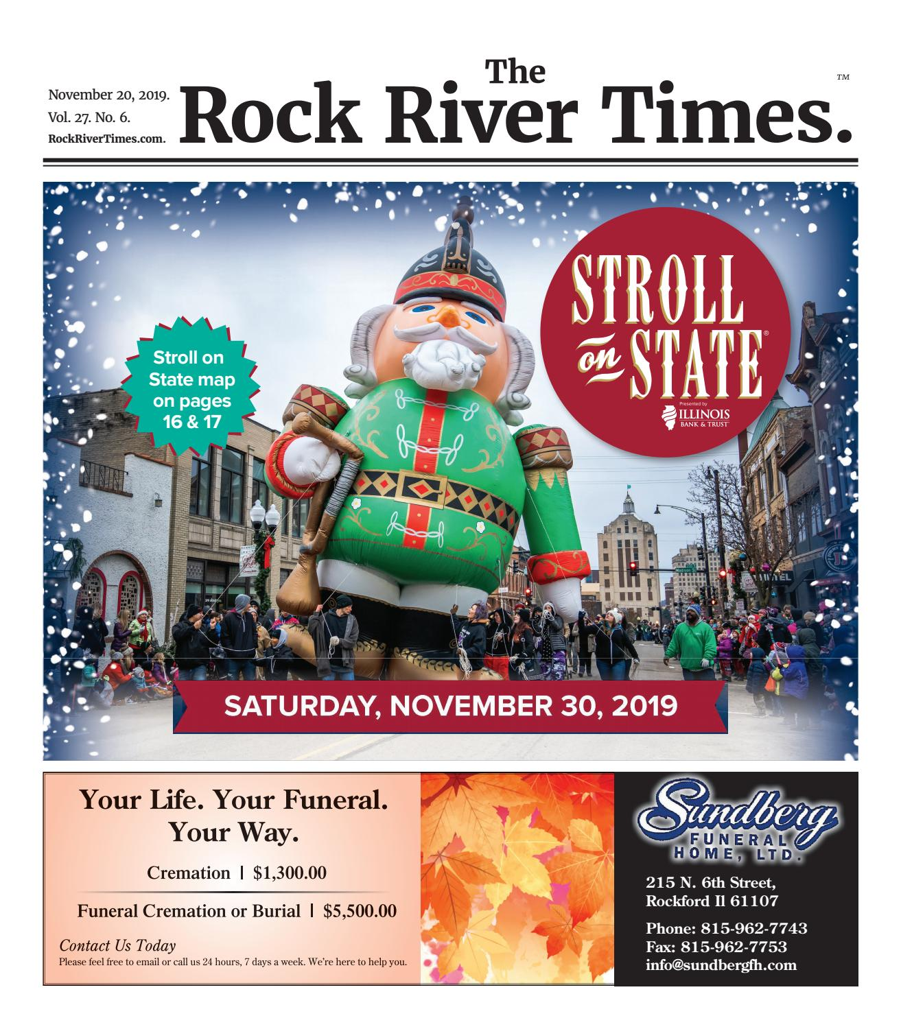 The Rock River Times November 20 2019 By Rockrivertimes7 Issuu