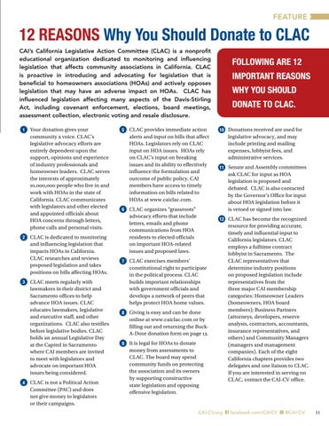 Page 11 of How HOA Boards Can Participate in the Legislative Process