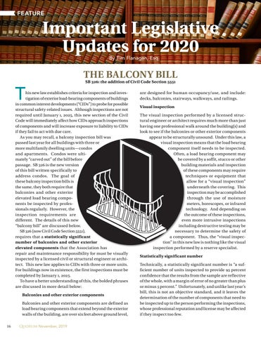Page 16 of Important Legislative  Updates for 2020 By Tim Flanagan, Esq.