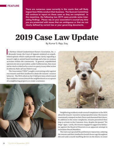 Page 20 of 2019 Case Law Update By Kumar S. Raja, Esq.