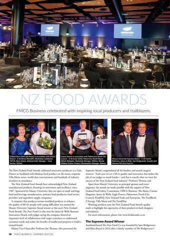 Page 38 of NZ FOOD AWARDS