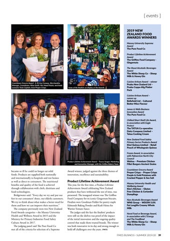 Page 39 of NZ FOOD AWARDS