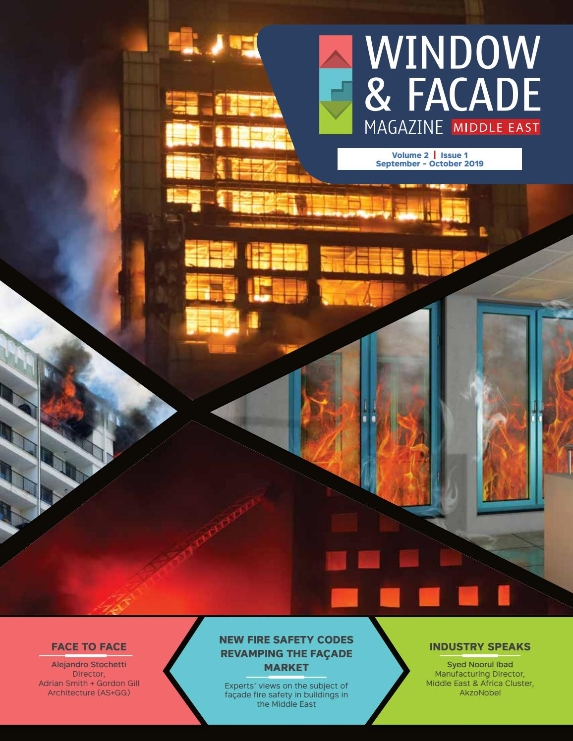 Window Facade Magazine Middle East September October 2019 By F F Media And Publications Issuu