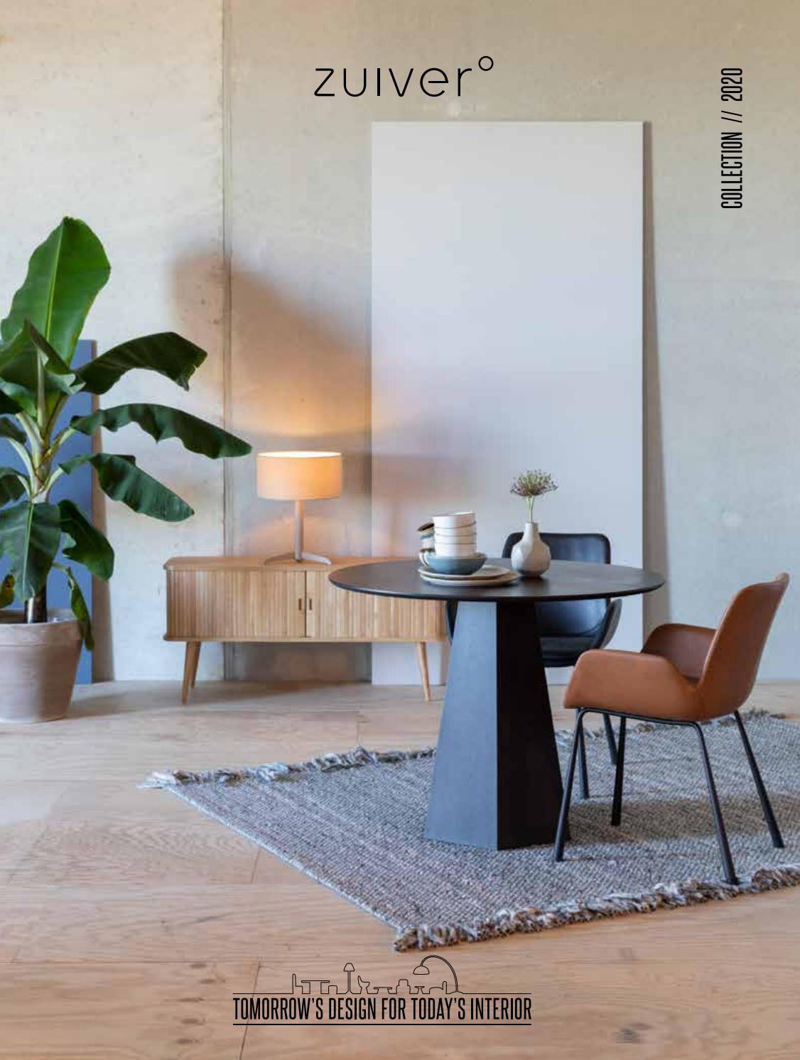 Zuiver Stoelen Rotterdam.Zuiver Brochure 2020 By Home Center Issuu