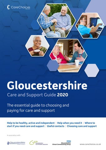 Gloucestershire Care And Support Guide 2020 By Care Choices