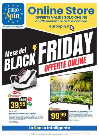 Mese Del Black Friday Offerte Online By Eurospinitalia Issuu