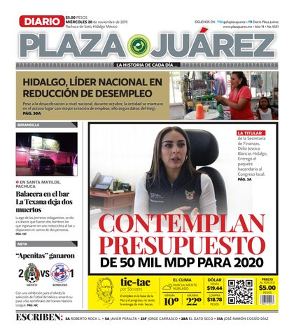 20 11 19 by Diario Plaza Juárez issuu