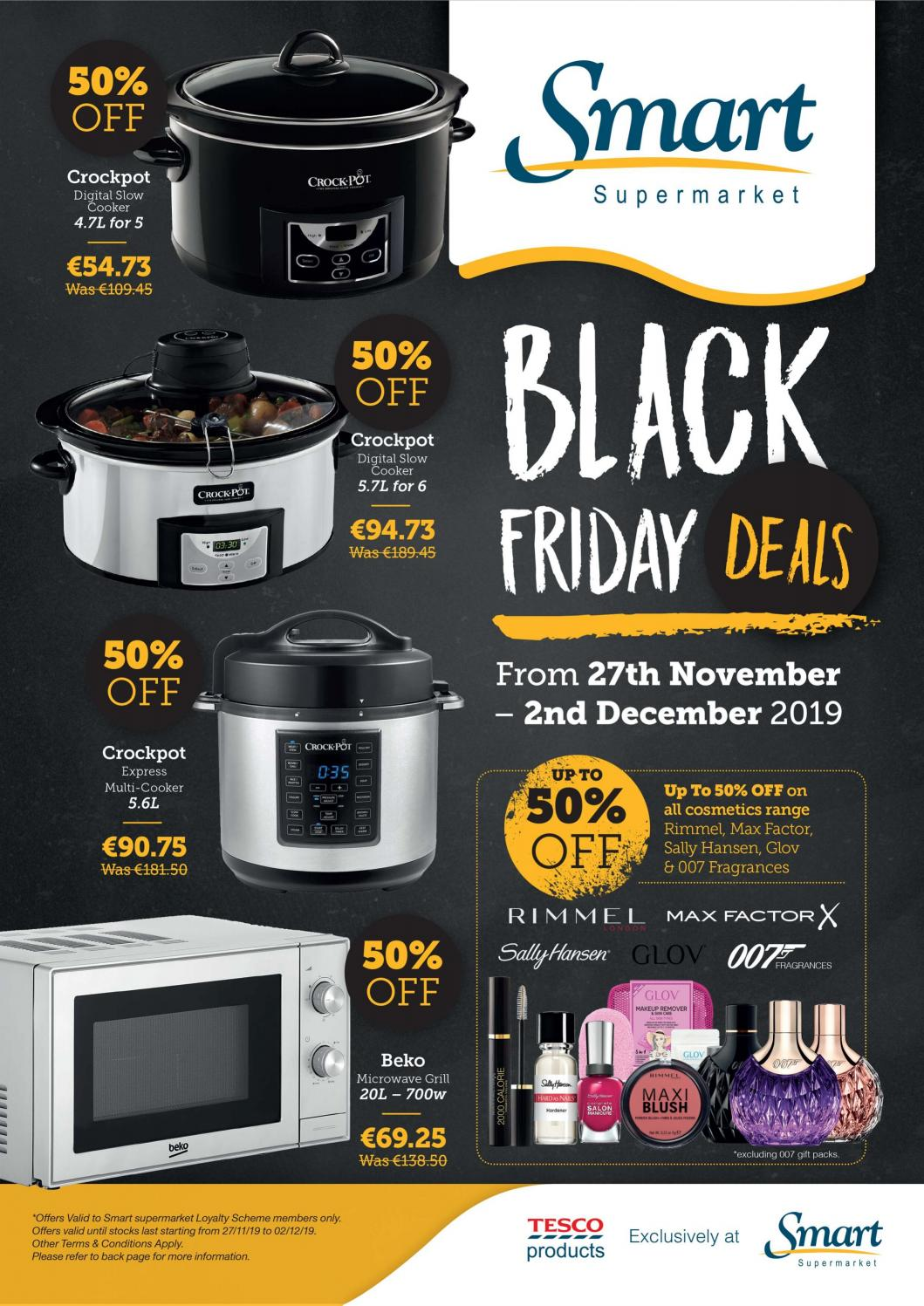 Black Friday Deals 2019 Smart