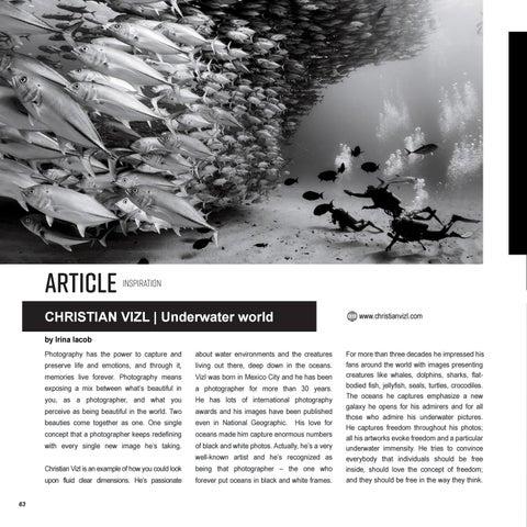 Page 64 of CHRISTIAN VIZL | Underwater world
