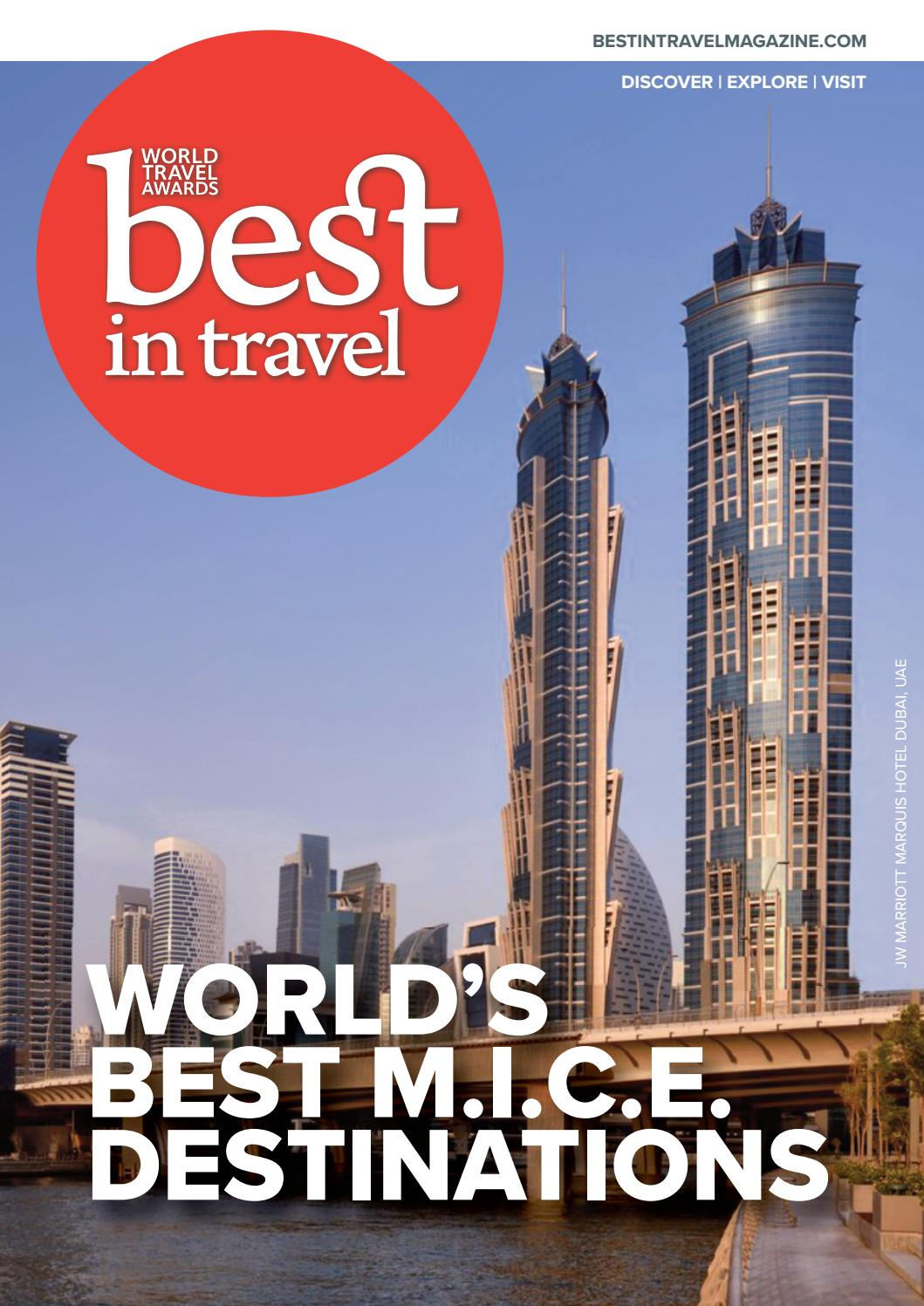 Best in Travel Magazine: MICE special