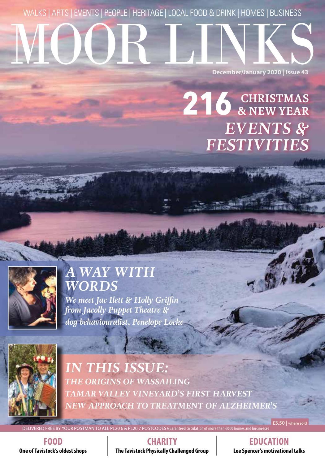 Moor Links December January 2020 By Links Magazines Issuu
